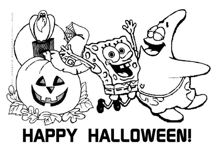 spongebob halloween coloring pages scary halloween coloring page beautiful coloring pages coloring halloween spongebob pages
