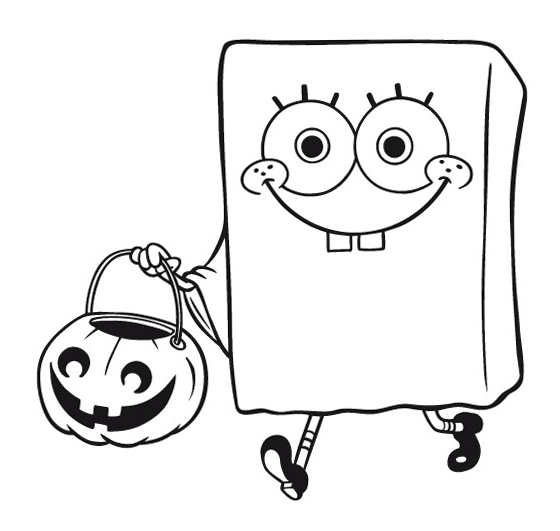 spongebob halloween coloring pages the spongebob happy halloween disney halloween coloring coloring pages halloween spongebob