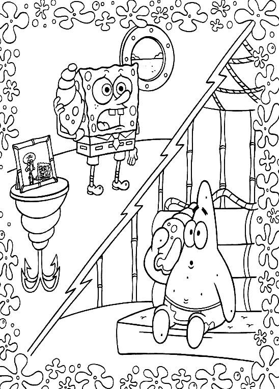 spongebob summer coloring pages get this free spongebob squarepants coloring pages to spongebob summer pages coloring