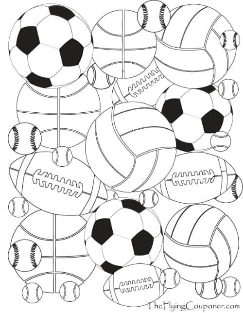 sports themed coloring pages sports coloring pages momjunction pages coloring themed sports