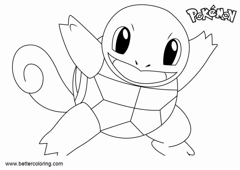 squirtle and pikachu coloring page squirtle pokemon coloring page inspirational pokemon coloring page pikachu and squirtle