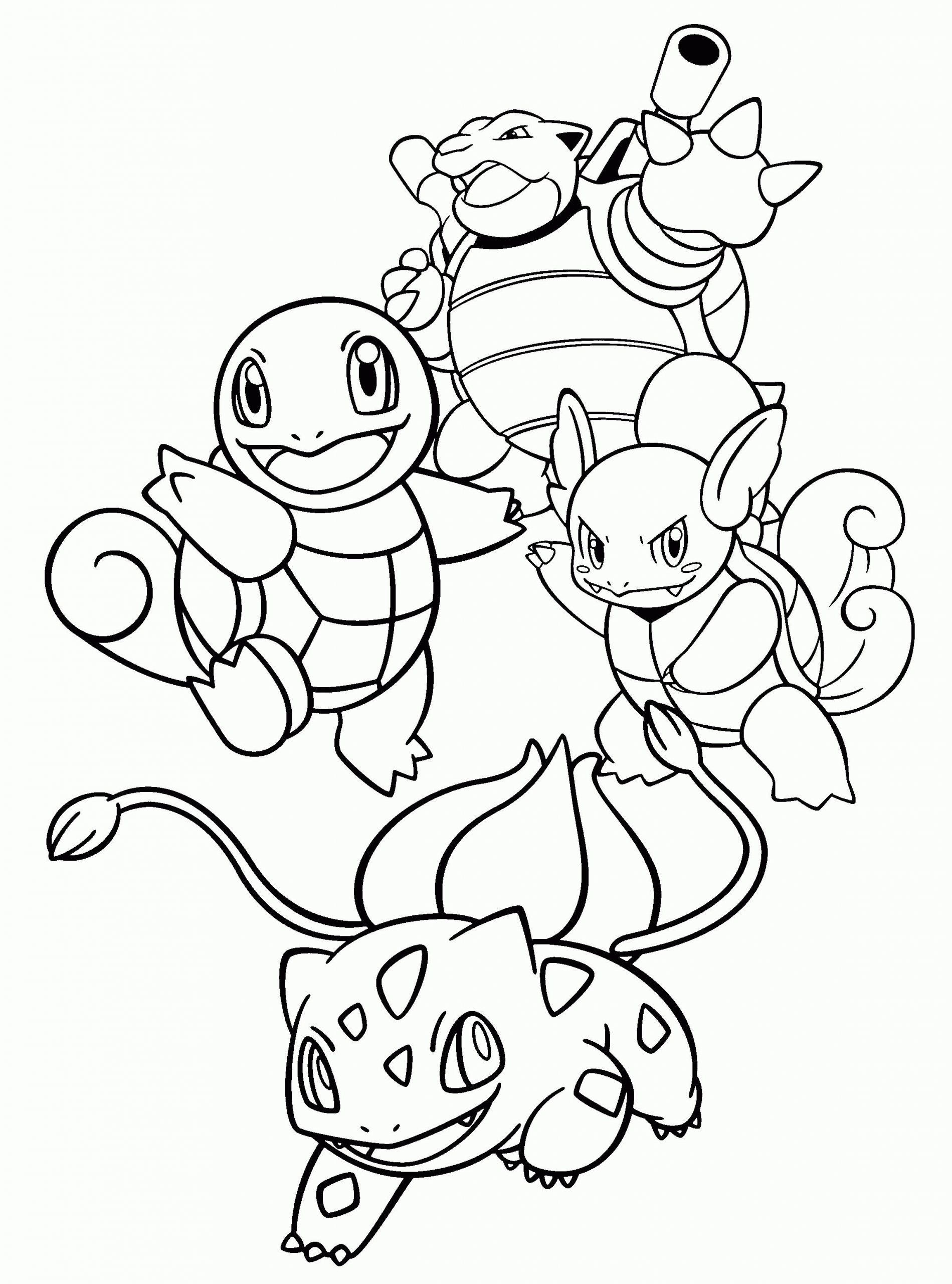 squirtle and pikachu coloring page squirtle pokemon coloring page youngandtaecom in 2020 page squirtle and coloring pikachu
