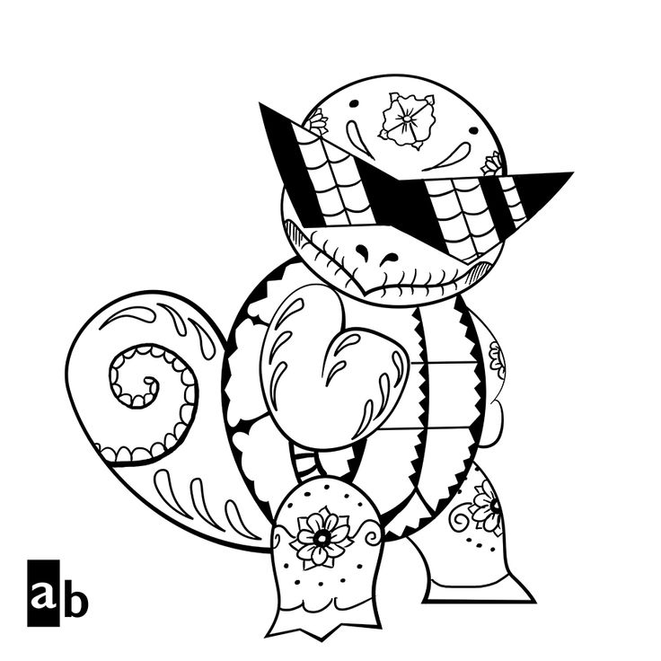 squirtle and pikachu coloring page squirtle squad coloring pages pokemon coloring love pikachu squirtle and coloring page