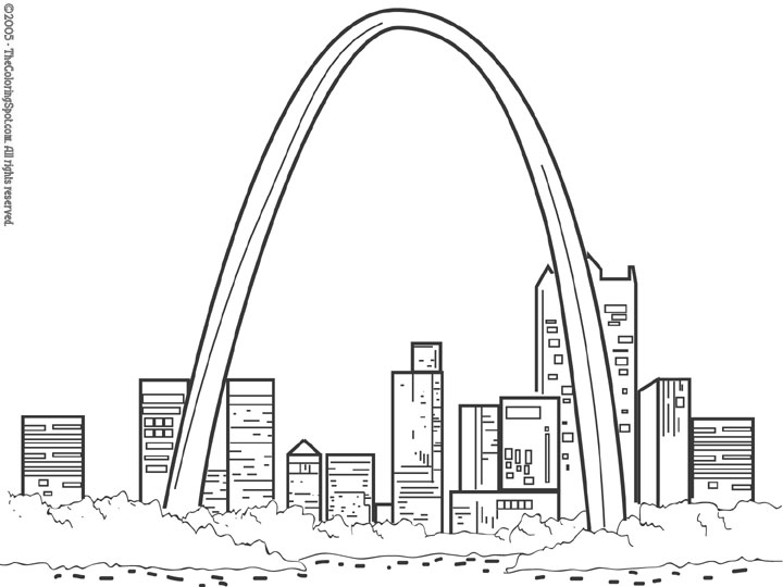 st louis coloring pages 11 best cakes i39ve made images on pinterest baby shower pages louis st coloring