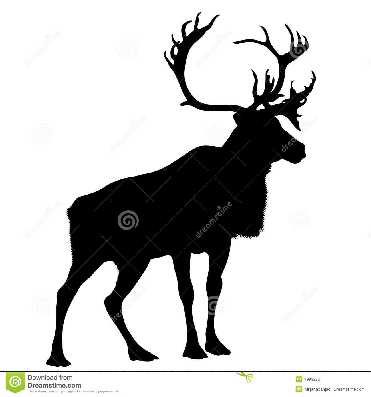stag silhouette black silhouette stag stock vector illustration of elch stag silhouette