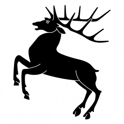 stag silhouette free stag silhouette vector clipart best silhouette stag