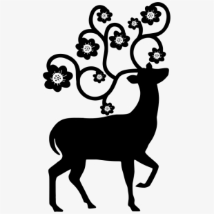stag silhouette stag clipart deer eyes cartoon transparent cartoon stag silhouette