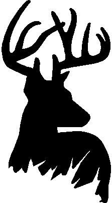 stag silhouette stag head silhouette at getdrawings free download silhouette stag