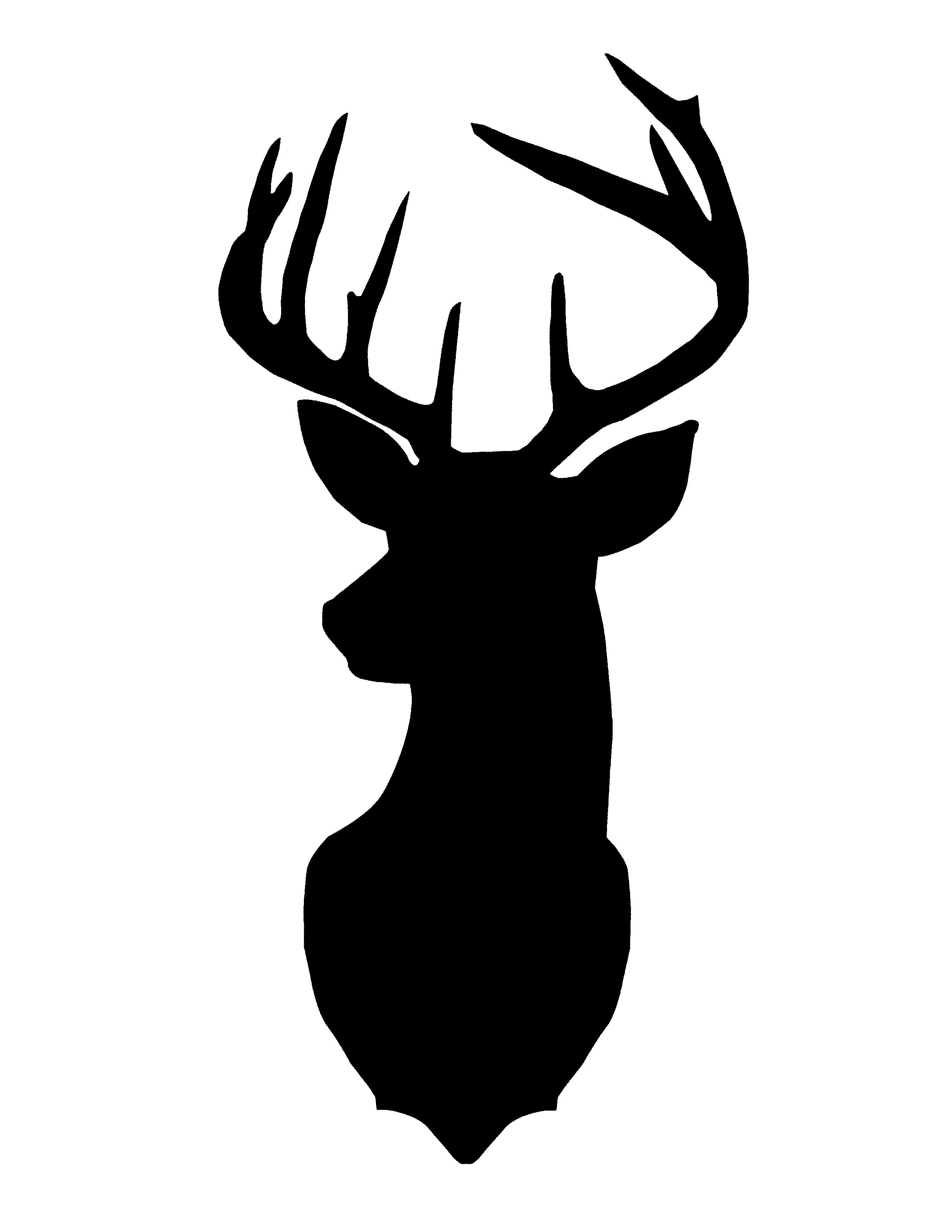 stag silhouette stag head silhouette clip art at getdrawings free download stag silhouette