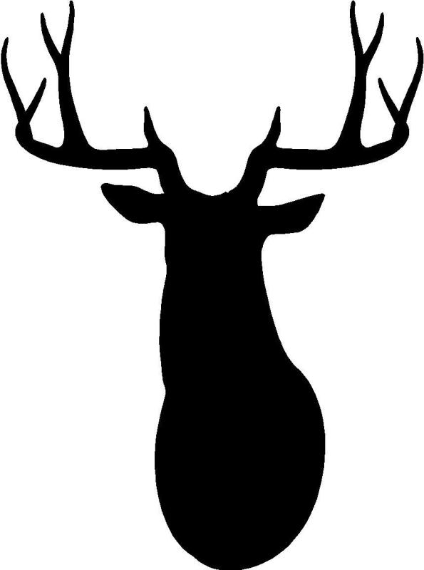 stag silhouette stag head silhouette clip art at getdrawings free download stag silhouette 1 1