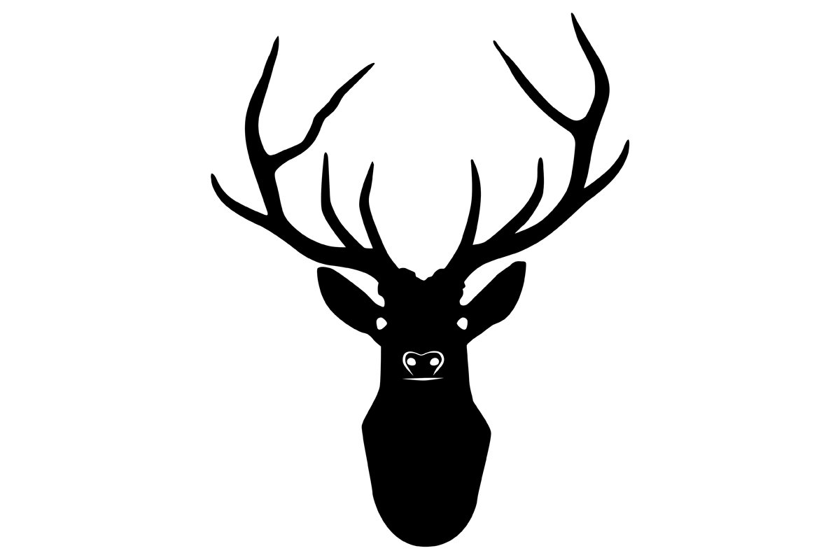stag silhouette stag head silhouette graphic by idrawsilhouettes silhouette stag