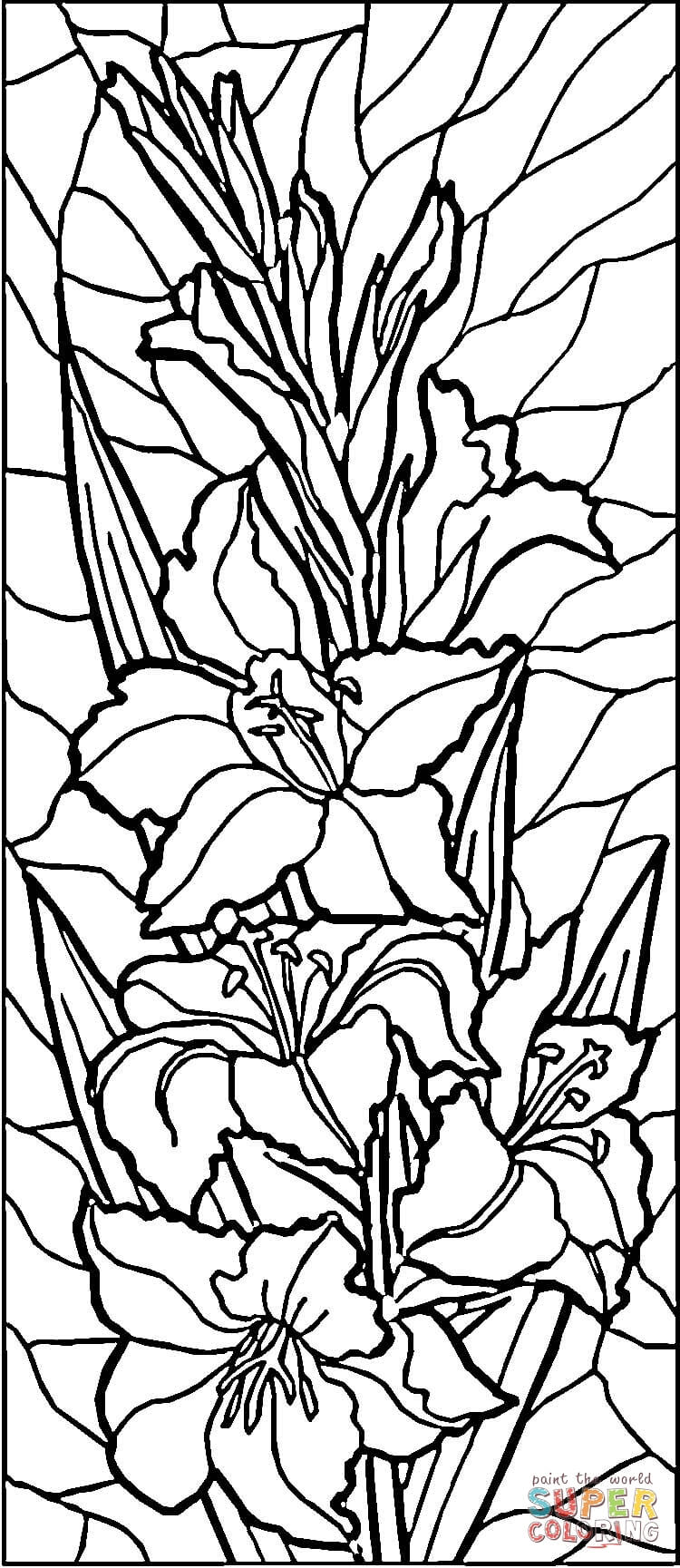 stained glass coloring page elementary school enrichment activities stained glass glass page stained coloring
