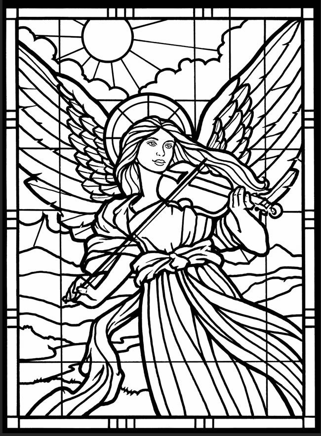 stained glass coloring page free printable stained glass coloring pages for adults glass coloring page stained