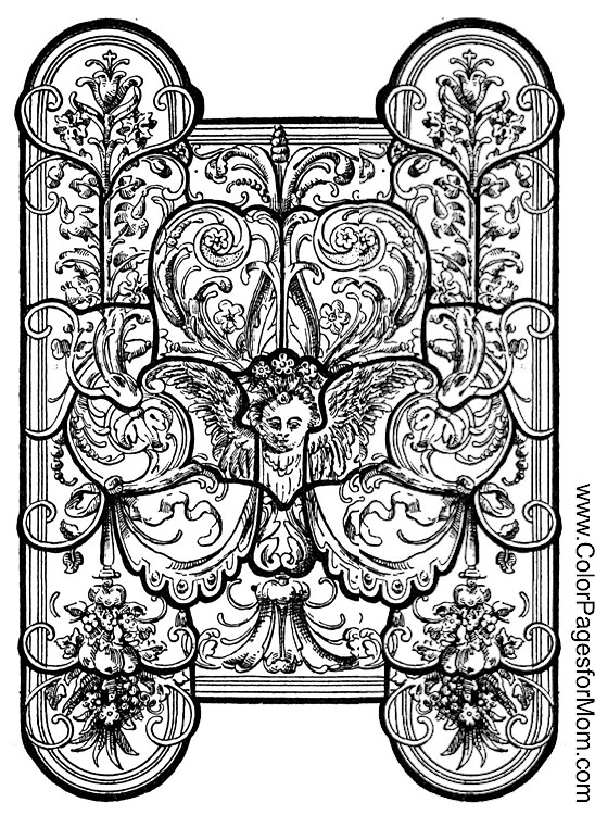 stained glass coloring page large stained glass coloring pages easy coloring pages stained coloring page glass