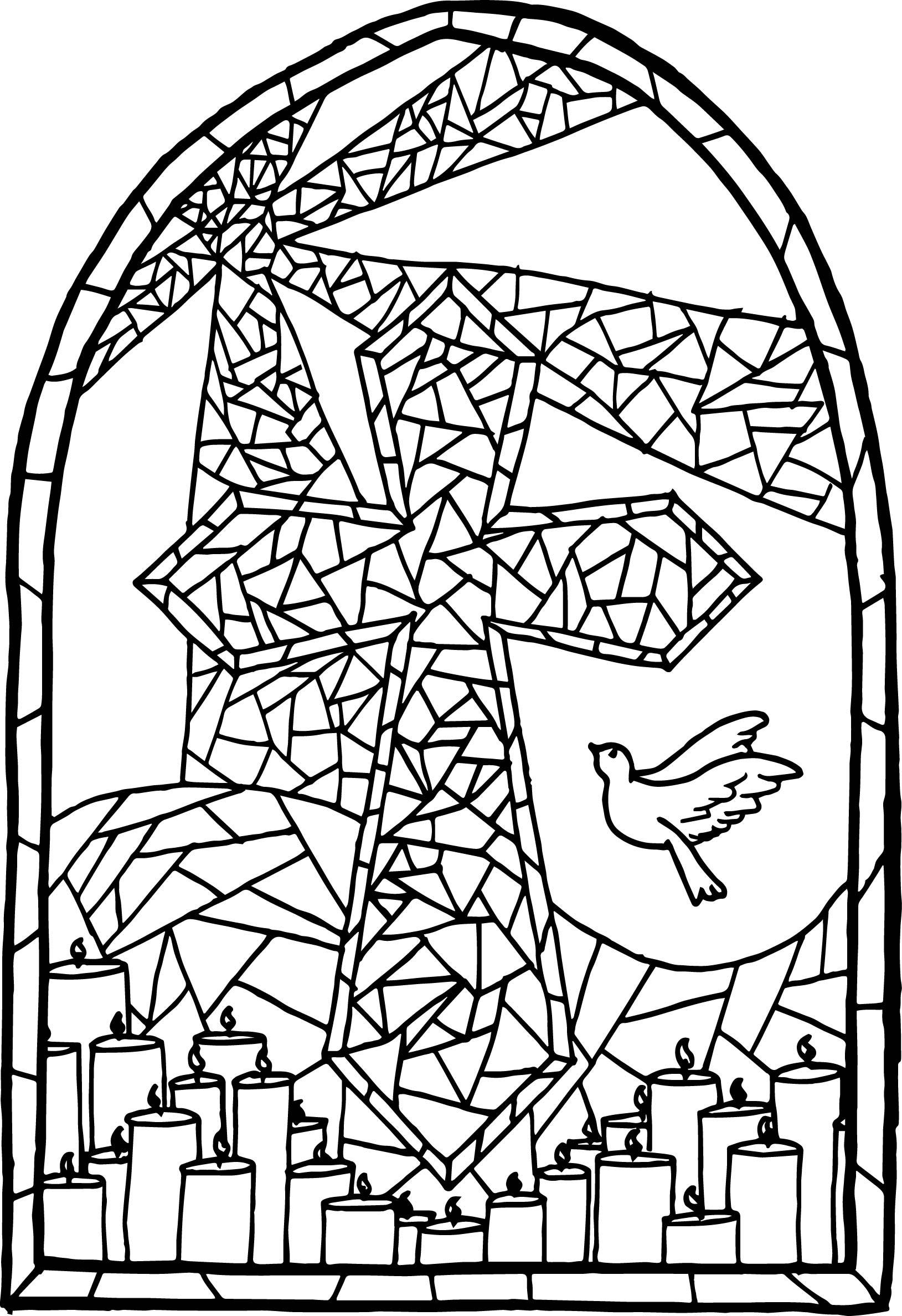 stained glass coloring page printable adult coloring pages stained glass coloring home page glass stained coloring
