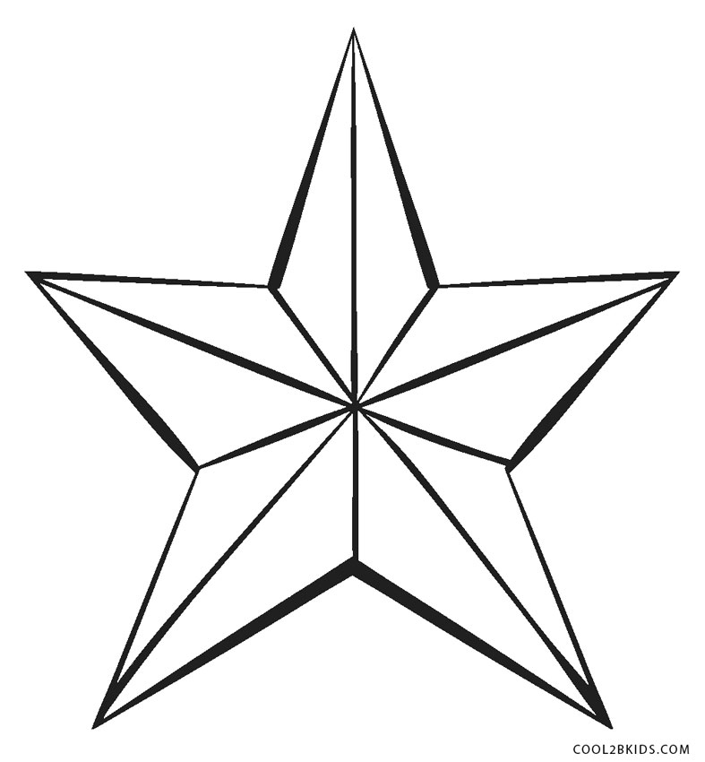 star printable 9 best images of 5 point star template printable circle printable star