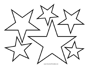 star printable stencil printable images gallery category page 3 star printable