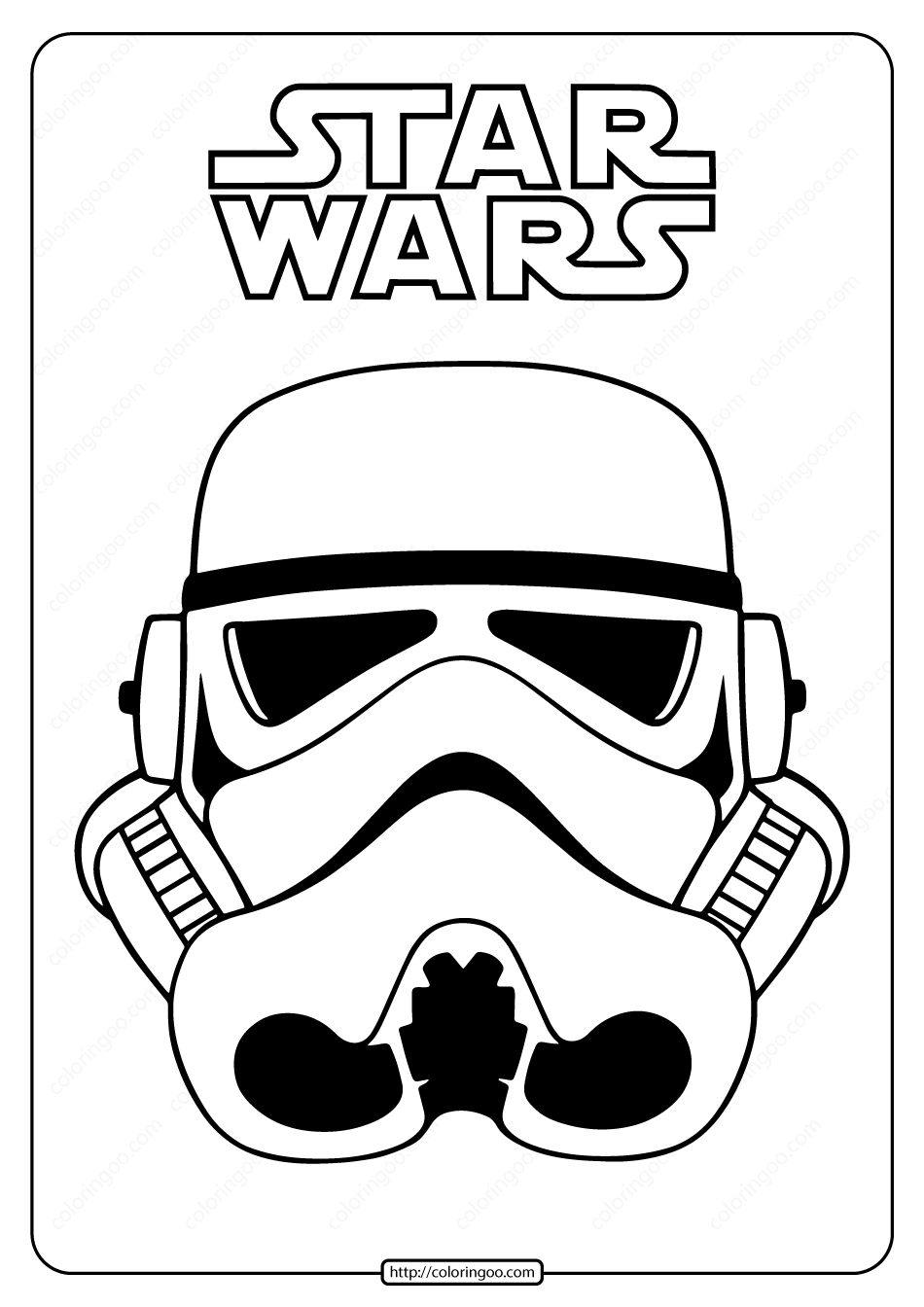 star wars color free printable star wars coloring pages play party plan color wars star