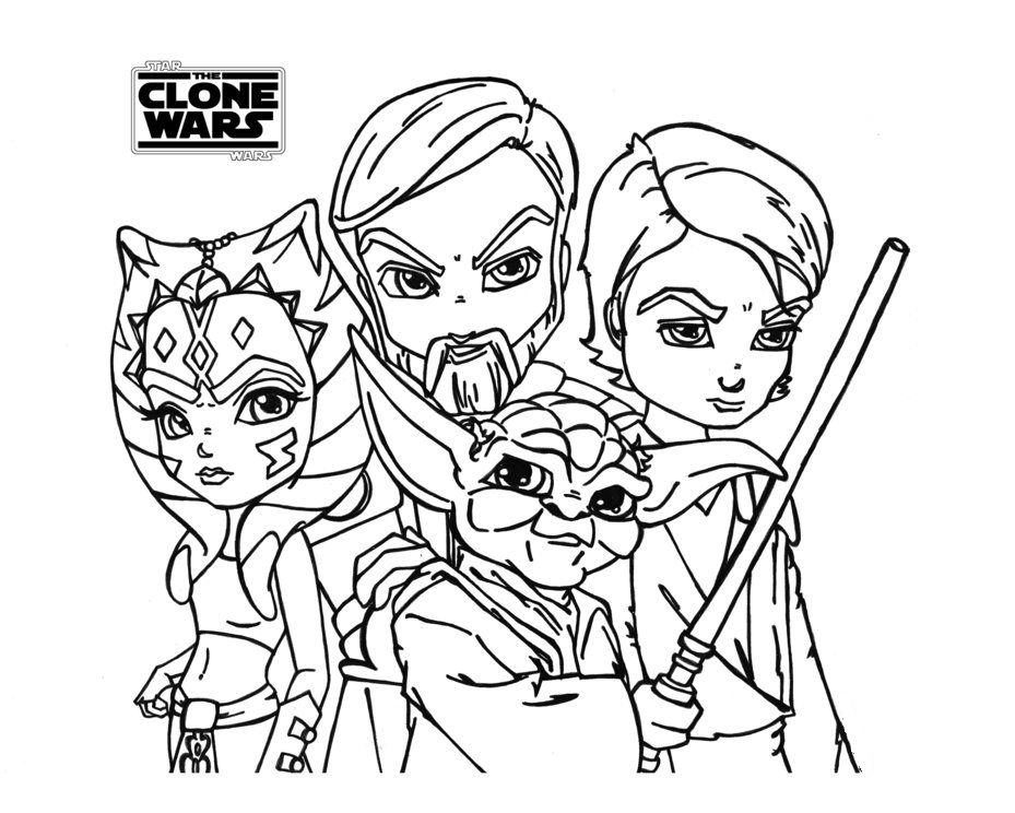 star wars color star wars coloring pages clone wars star color wars