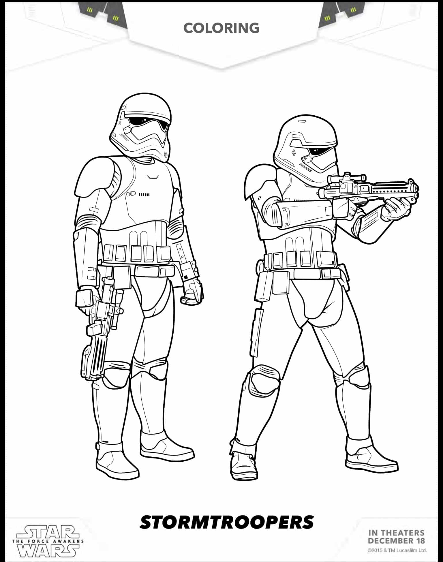 star wars print out coloring pages cool star wars the force awakens stormtrooper coloring pages star out wars coloring print