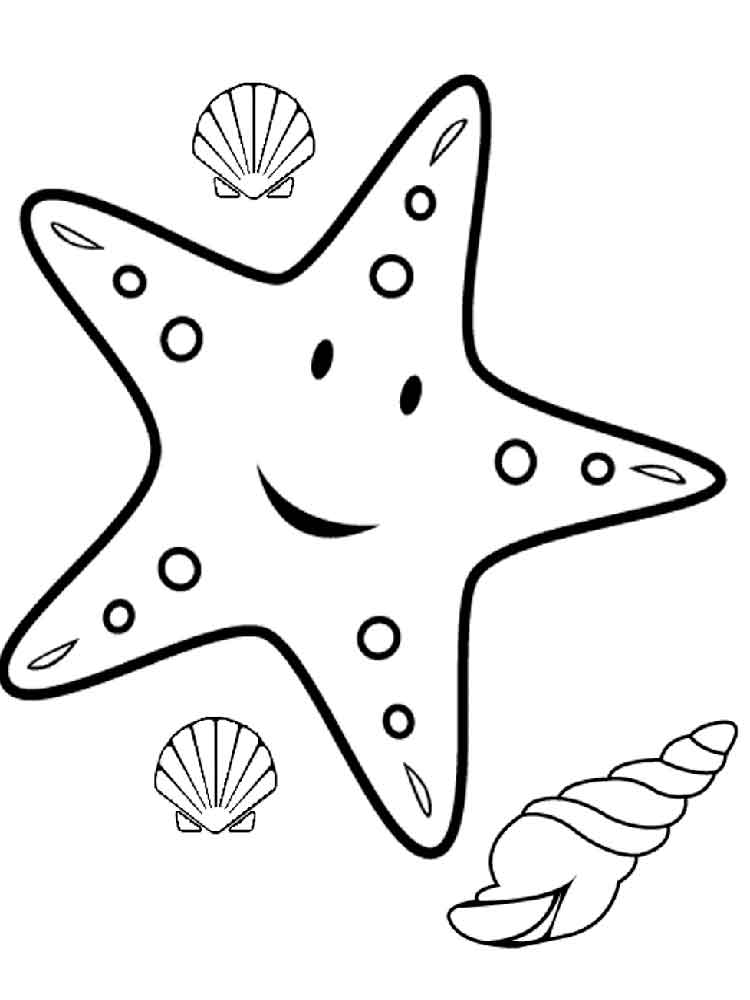 starfish coloring 11 star fish coloring pages print color craft starfish coloring