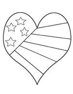 stars and stripes coloring pages july 4th coloring page with patriotic stars and stripes stripes stars and pages coloring