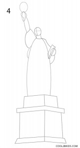 statue of liberty drawing step for step how to draw statue of liberty world marvels for drawing liberty step statue of step