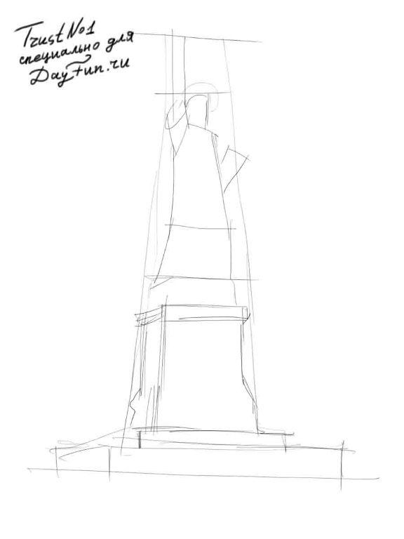 statue of liberty drawing step for step how to draw the statue of liberty step by step pictures drawing of step statue for step liberty