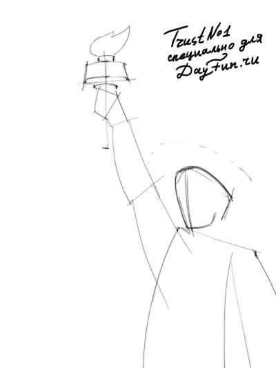 statue of liberty drawing step for step statue of liberty drawing step by step free download on step drawing step liberty for of statue
