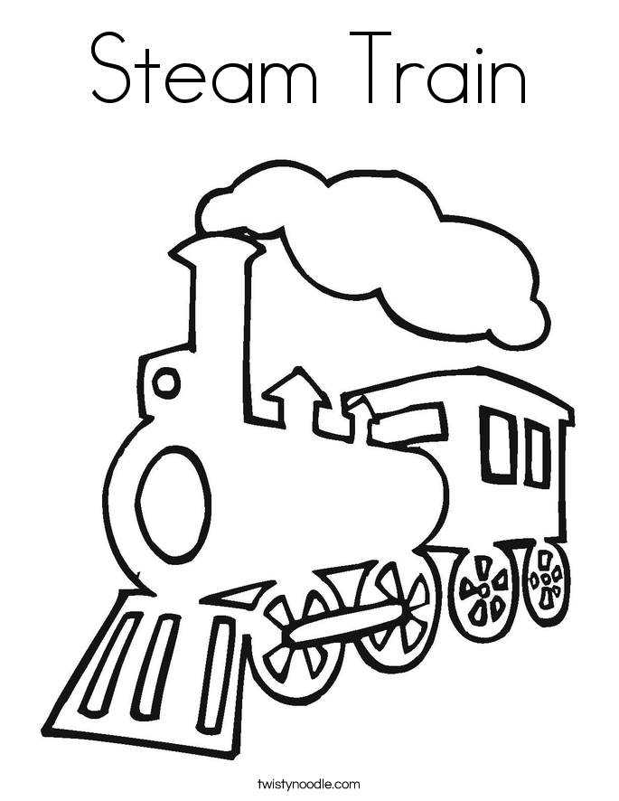 steam train colouring pages steam train coloring pages at getdrawings free download pages steam train colouring