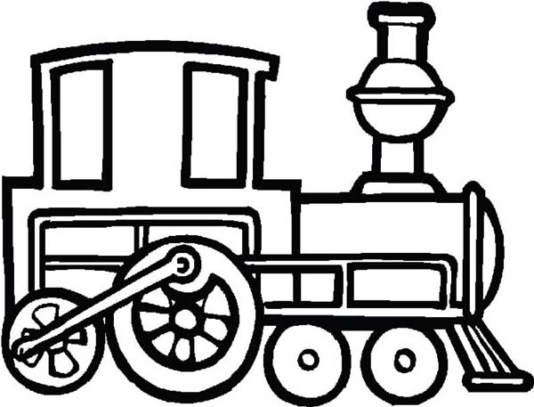 steam train colouring pages steam train on sunny day coloring page netart pages steam train colouring