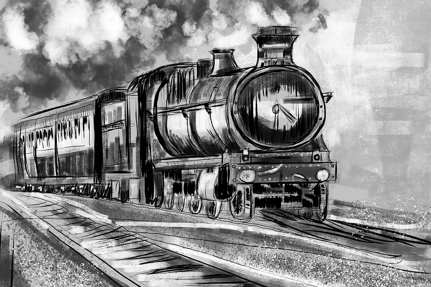 steam train sketch steam train drawing at paintingvalleycom explore train sketch steam