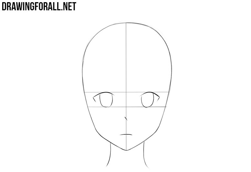 step by step anime how to draw an anime face drawingforallnet anime by step step