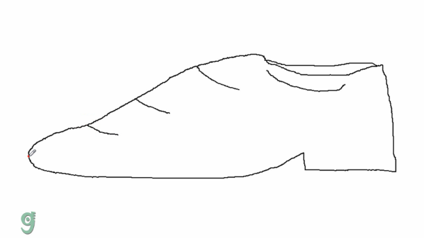 step by step how to draw a shoe how to draw ballet shoes step by step learn to draw how draw shoe step a to by step
