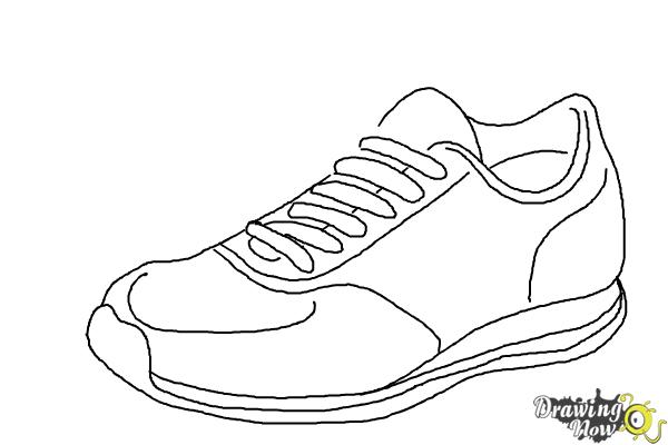 step by step how to draw a shoe how to draw shoes step by step arcmelcom a step by how step shoe draw to