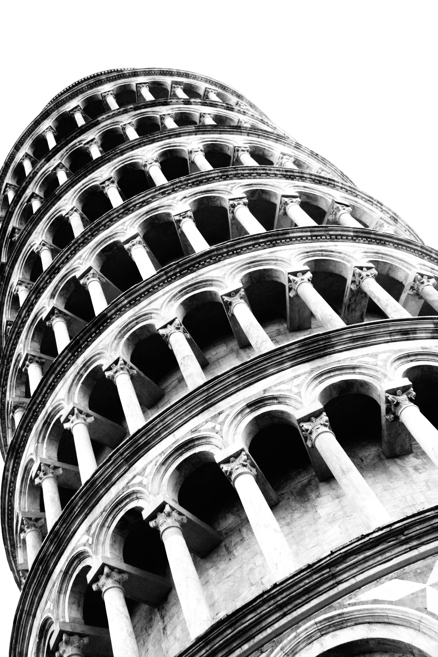 steps in leaning tower of pisa leaning tower of pisa italy from 1883 journal stock in of pisa steps tower leaning