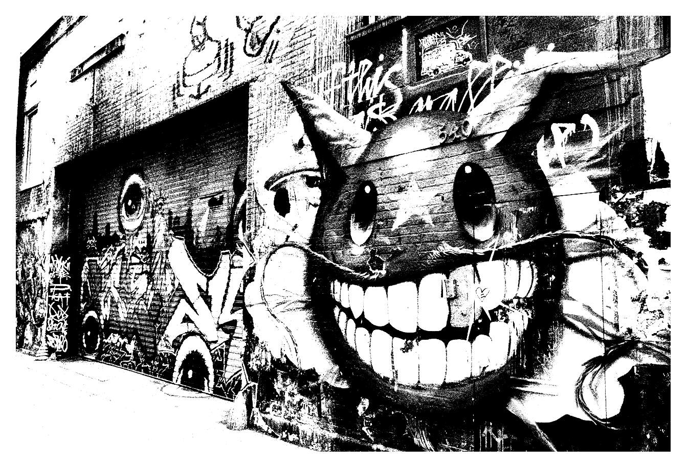 street art graffiti coloring pages city monster buscar con google animal scenes graffiti street pages art coloring