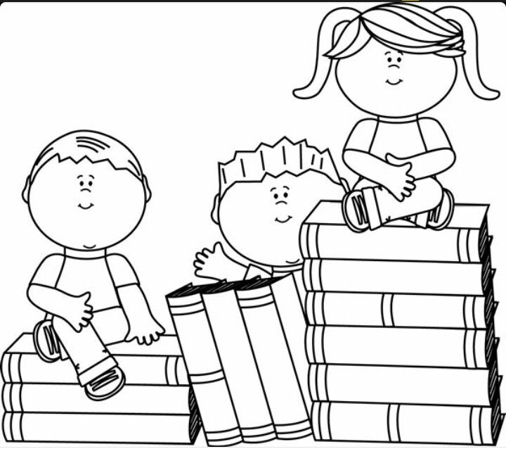 student coloring clipart a girl is doing homework coloring page free printable student clipart coloring