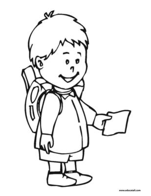 student coloring clipart happy boy student on graduation day coloring page clipart coloring student