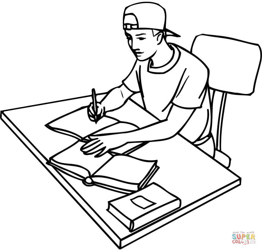 student coloring clipart school girl coloring pages at getcoloringscom free coloring clipart student