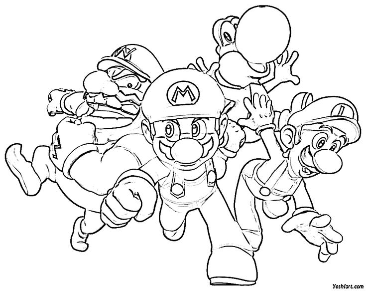 super mario 64 coloring pages 17 best images about coloring super mario on pinterest pages 64 super mario coloring