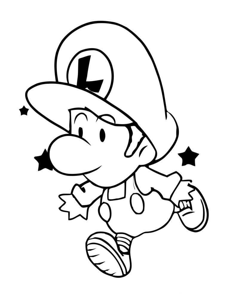 super mario luigi coloring pages how to draw luigi super mario bros drawing tutorial coloring luigi pages mario super