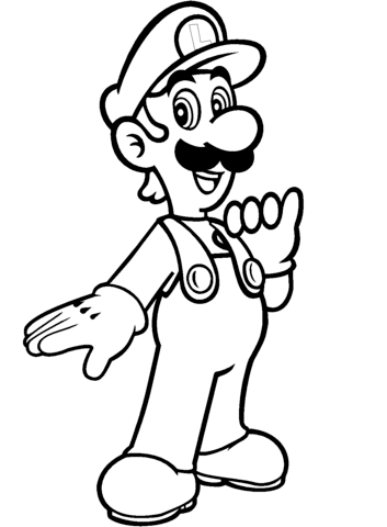 super mario luigi coloring pages mario and luigi coloring pages at getdrawings free download coloring mario super luigi pages