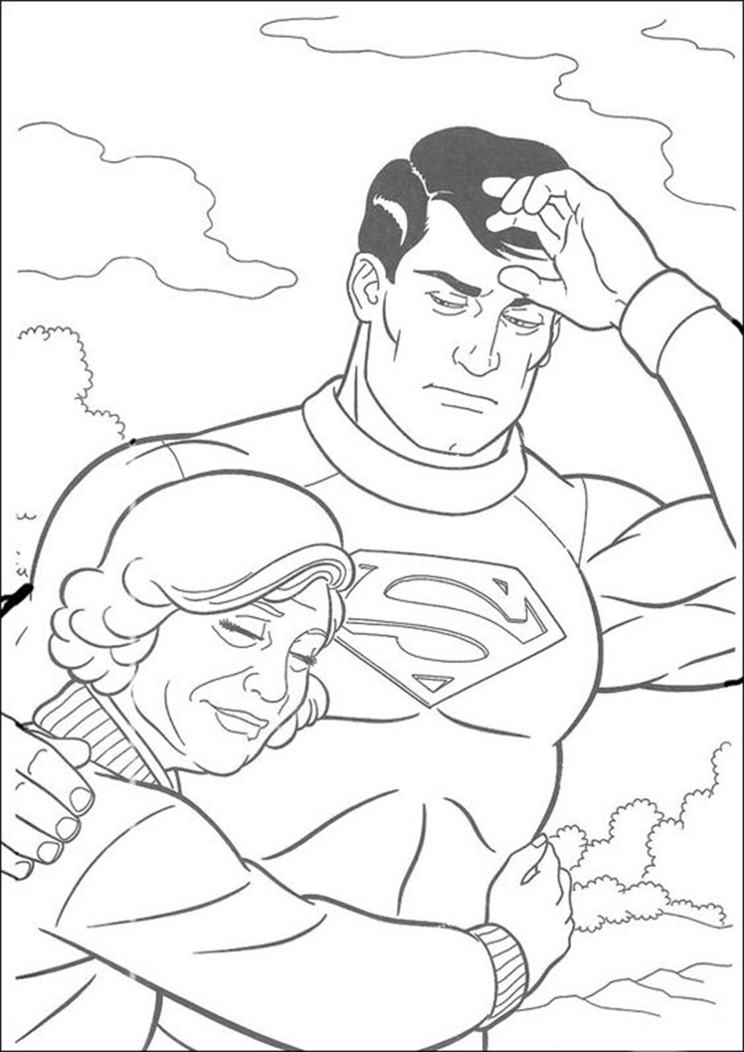superman free coloring pages coloring pages for kids top 15 superman coloring pages for pages superman free coloring