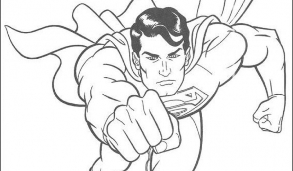 superman free coloring pages superman coloring pages printable that are effortless free coloring superman pages