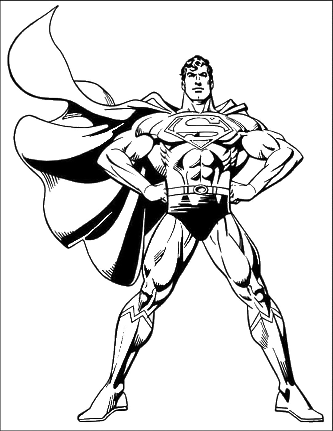 superman free coloring pages superman super hero coloring pages printable coloringsnet superman pages free coloring