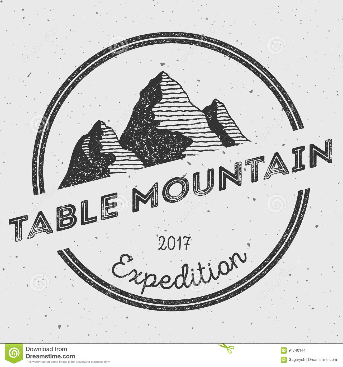 table mountain vector african s big five text stock illustration illustration table vector mountain