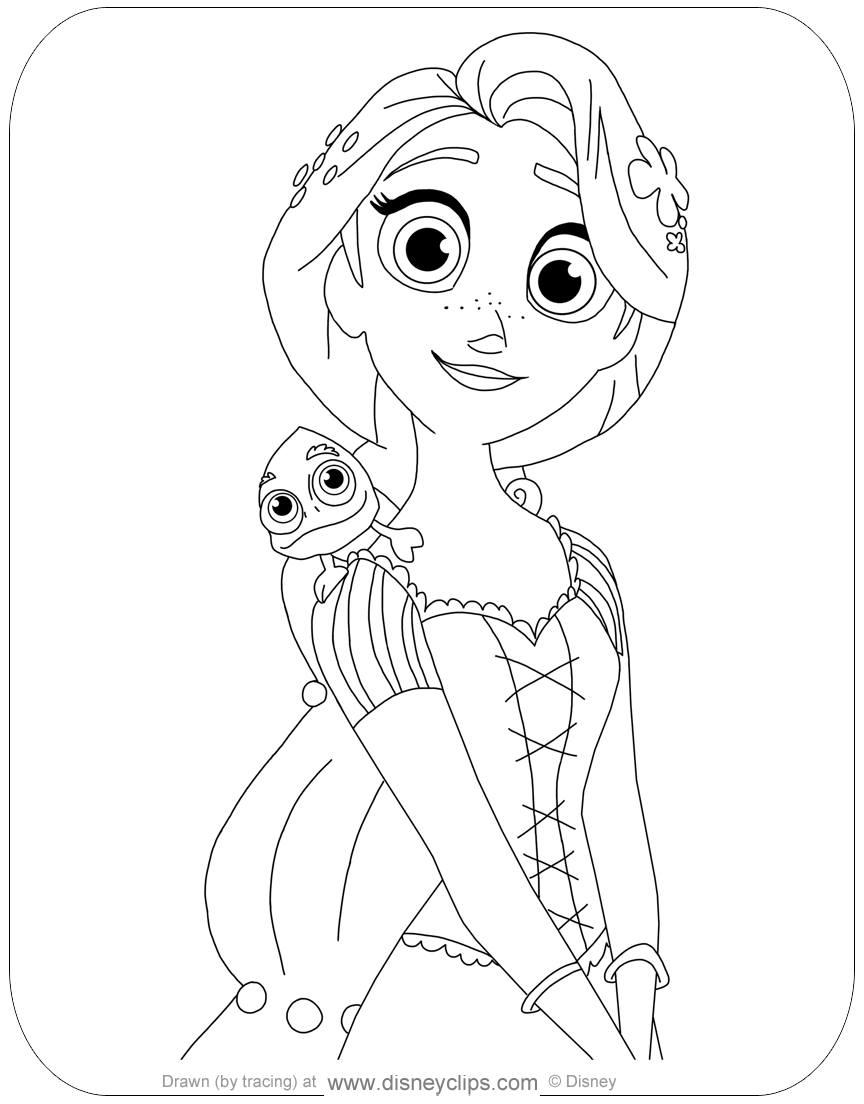 tangled the series coloring pages free printable tangled coloring pages for kids tangled pages tangled series the coloring