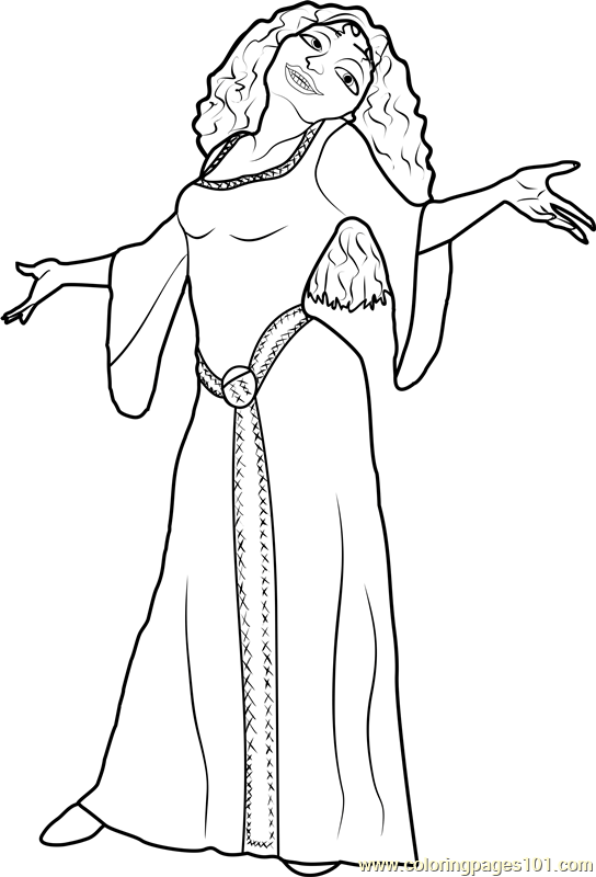 tangled the series coloring pages tangled coloring pages the coloring tangled series pages