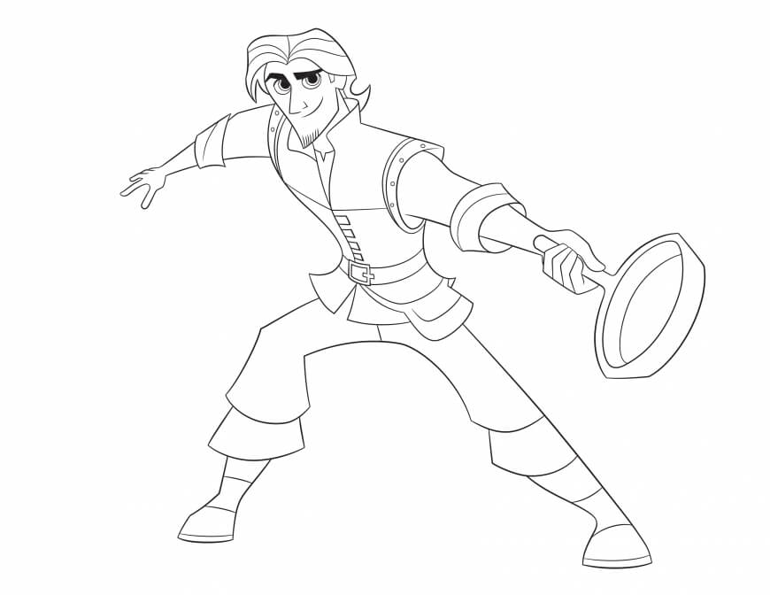 tangled the series coloring pages tangled maximus coloring pages at getdrawings free download coloring the tangled pages series